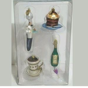 Department 56 Tiny Trimmings Mini Glass Ornaments